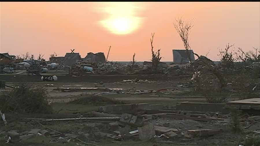 Residents of Pilger describe their unrecognizable town that was leveled by twin tornadoes Monday.