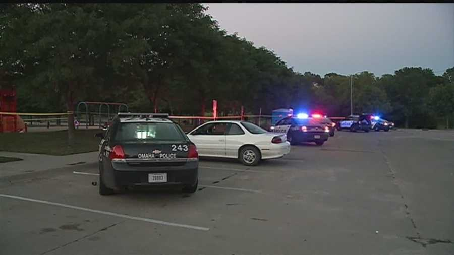 Little children were in danger as a shooter opened fire at an Omaha splash pad.
