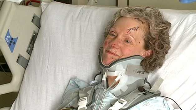 Bonnie Nelson is finally out of intensive care after a horrific crash on Monday near 54th and Cornhusker streets.