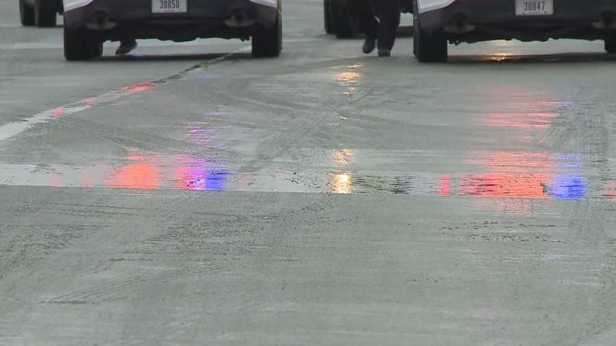 Icy interstates cause problems for Lincoln drivers