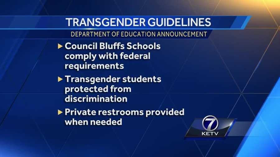 Federal Guidance On Students With >> White House Issues Guidance On Transgender Students In Public Schools