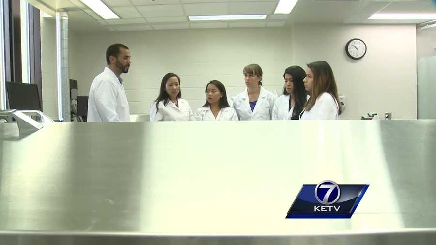 A life-changing gift is providing local college students with hands-on training, but the lessons learned in this lab go far beyond anatomy.