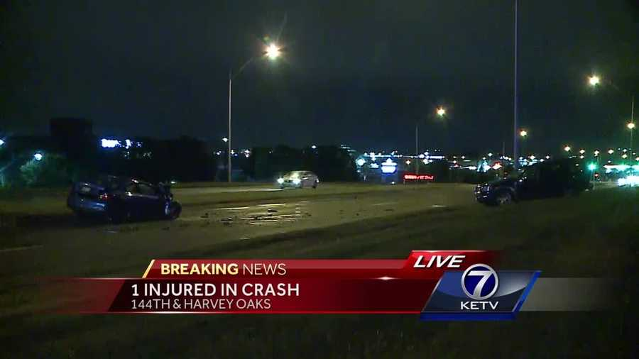 Medics transported one person to the hospital with critical injuries, after a wreck near 144th and Harvey Oaks.