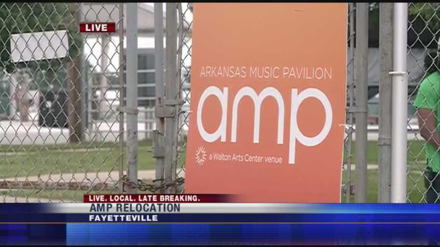 Leaders think moving the AMP from Fayetteville to Rogers, will help bring in bigger and better acts, And they're meeting today to talk about it