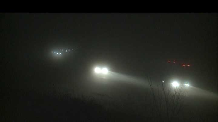Brace yourself for dense, pea soup fog as you head out the door for your Monday morning commute.
