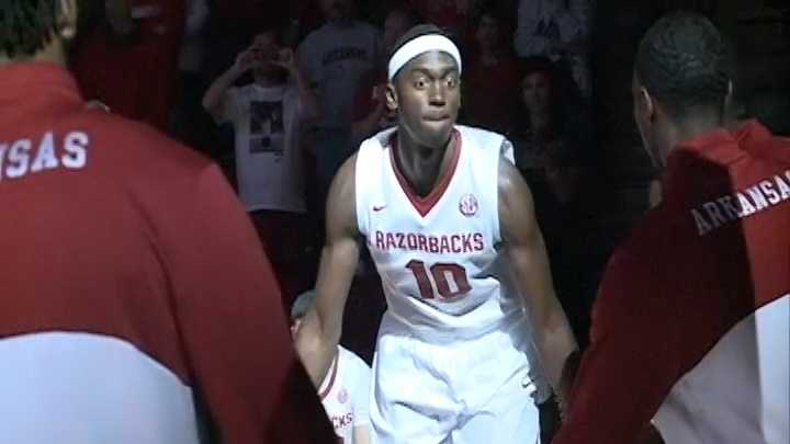 Arkansas Razorbacks freshman forward Bobby Portis