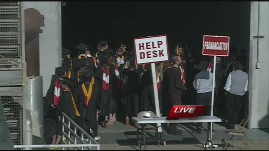 Today, more than 4,000 students will graduate from the University of Arkansas in Fayetteville.