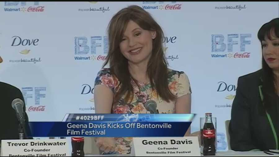 Geena Davis explains how BFF became a reality in NWA.
