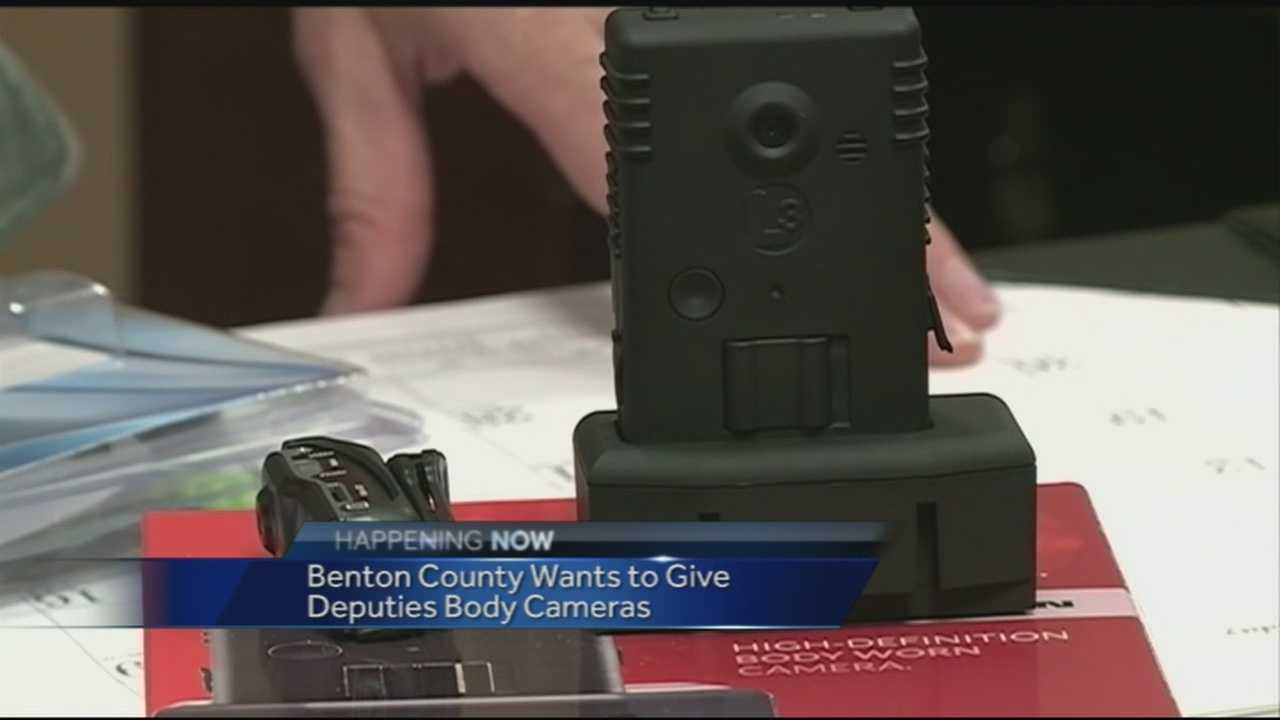 "The Benton County Sheriff's Office started exploring the possibility of putting ""body cameras"" on deputies. 40/29's Ugochi Iloka investigated why they are looking into this now."
