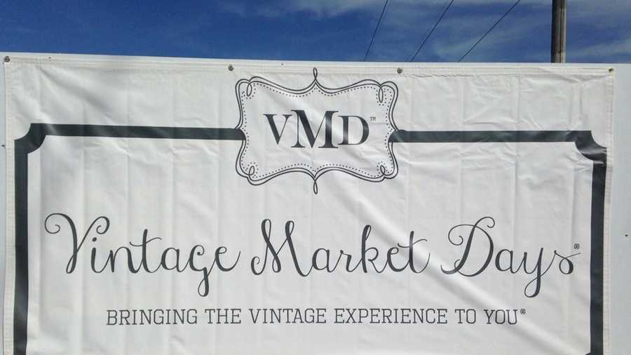 Nearly 12,000 people are expected to be at Bentonville's Vintage Market Days this weekend.