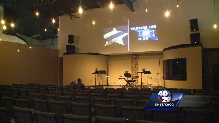 A church in Van Buren opened its doors for those needing comfort in this difficult time.