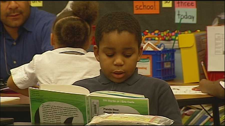Kansas City Mayor Sly James said there's been signs of improvement after efforts to work on the low number of students reading at their proper level.