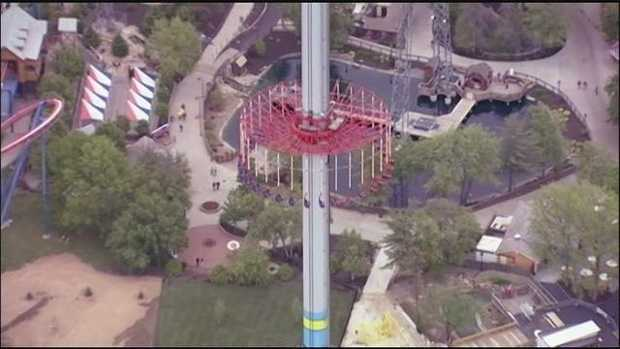 KMBC will deliver live weather reports from Worlds of Fun for the 5 and 6 o'clock newscasts.