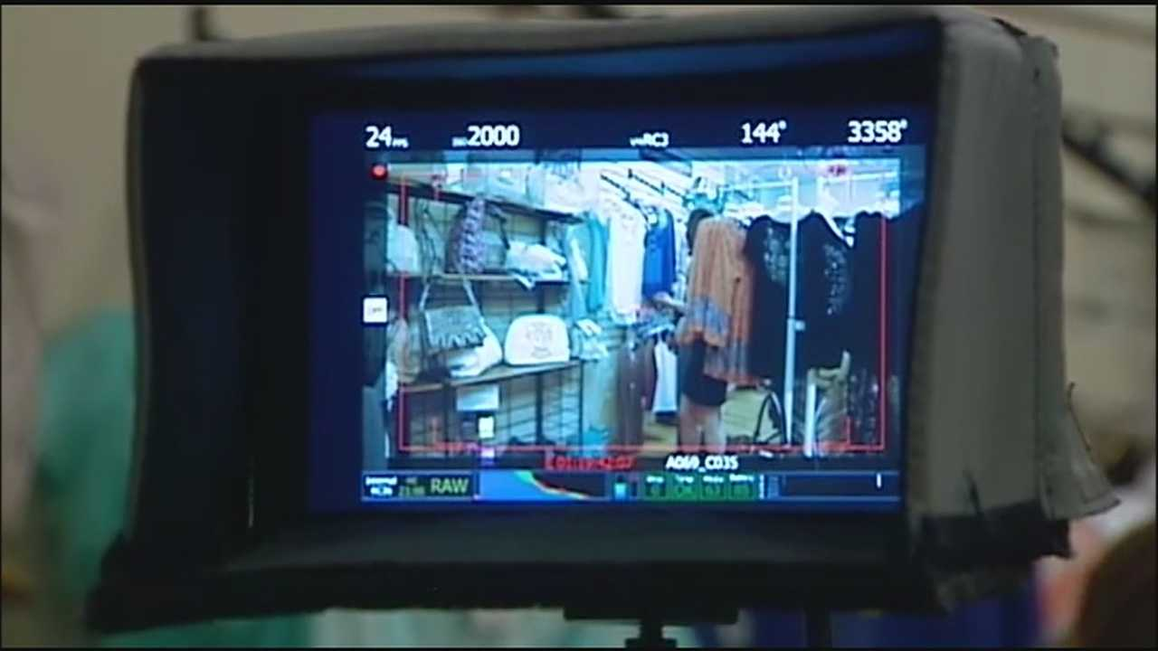 A local fimmaker is spending a couple weeks in the metro shooting a feature film.  KMBC's Haley Harrison reports.