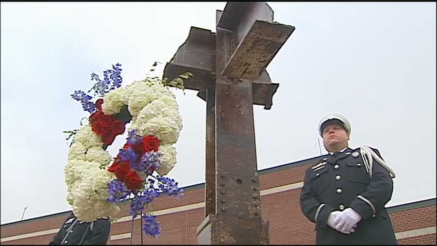 After three years of work, Overland Park completes and dedicates its memorial to the 9/11 terrorist attacks.