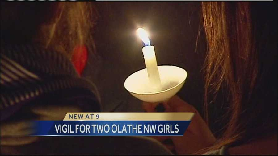 The father of one of the Olathe Northwest High School students who took her own life over the weekend delivered a potent message to her friends and classmates at a vigil Tuesday evening.