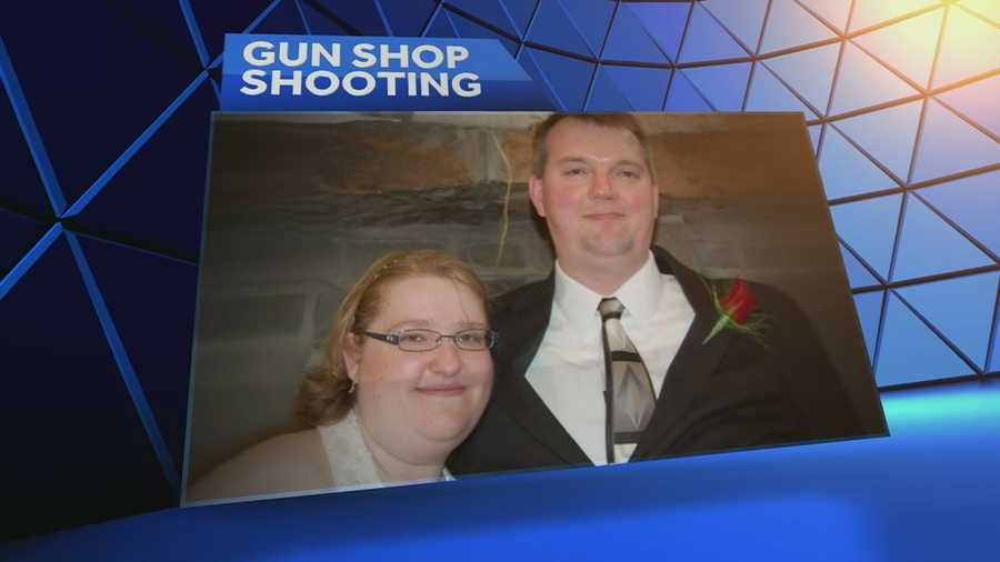 Shawnee businesses, including the PowerPlay Entertainment Center, are helping to raise money for the widow of John Bieker, the gun shop owner who was killed during a robbery attempt last week.