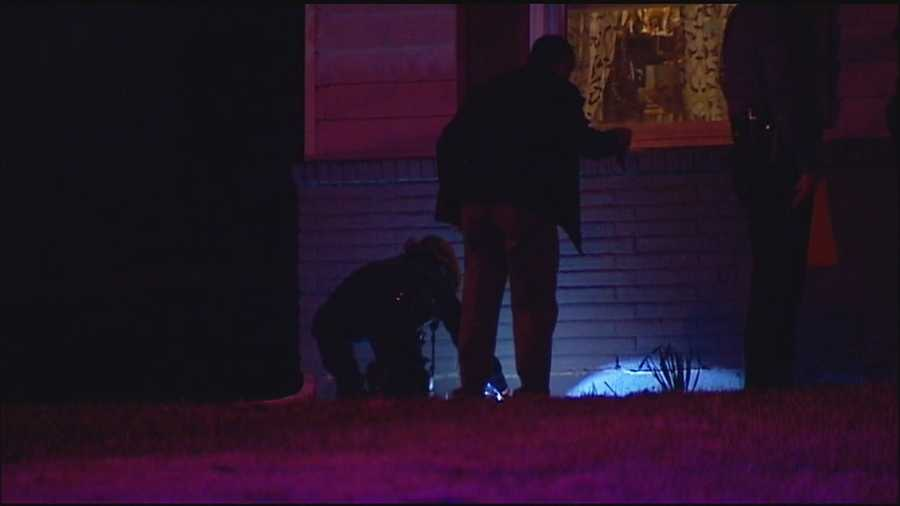A teenage girl says a man climbed in her east Kansas City bedroom and attempted to kidnap her.