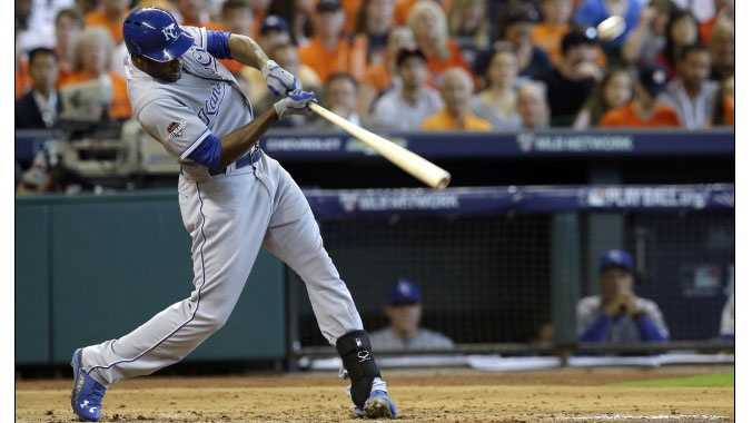 Lorenzo Cain opened scoring in Game 3 of the ALDS with a long home run, but the Royals left too many runners on base against Houston ace Dallas Keuchel.