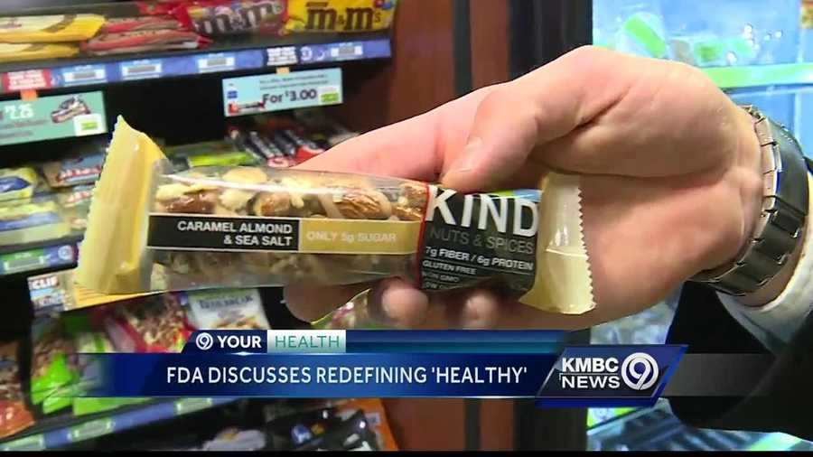 The Food and Drug Administration is trying to figure out the definition of healthy food and it could have a big impact for one granola bar company.