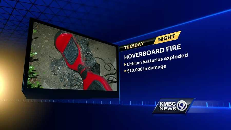 Members of a Platte County family said the fire that broke out at their home late Tuesday started when a hoverboard exploded.