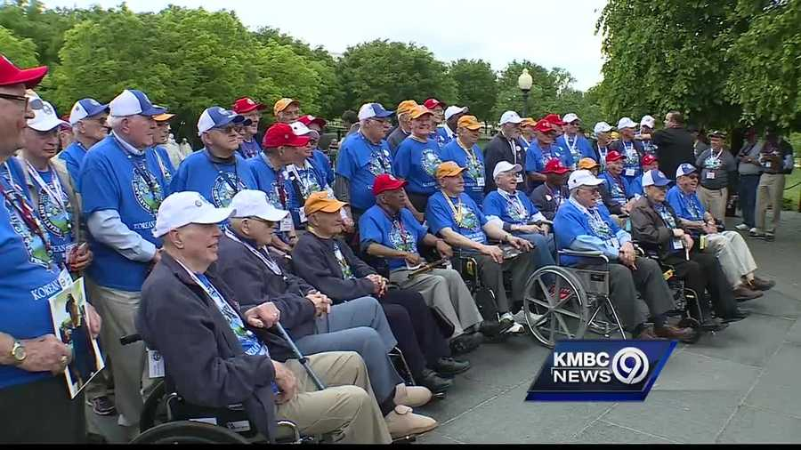 Another group of veterans have made the trip to Washington, D.C. to see the World War II, Korean War and Vietnam War memorials and to accept a nation's gratitude for their service and sacrifices.