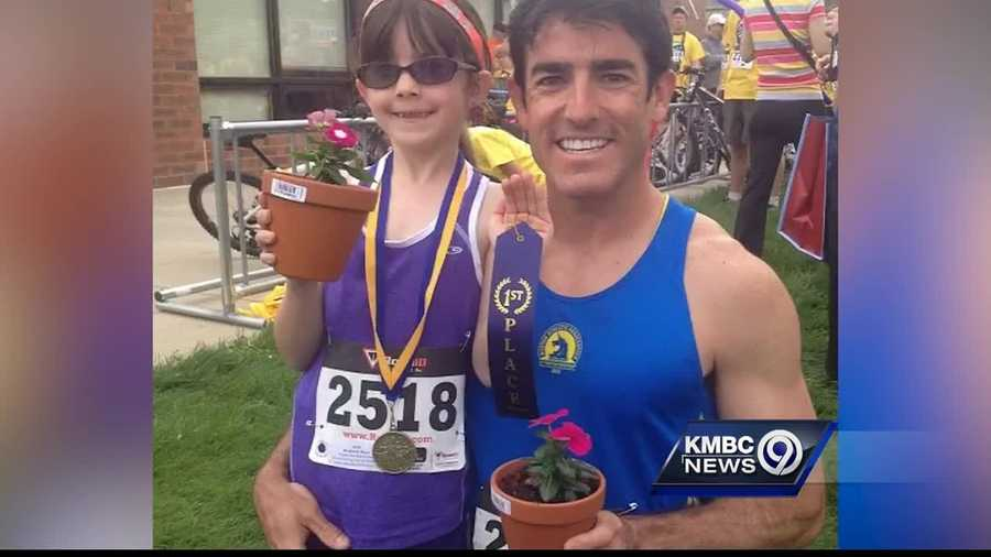 A Colorado father is running across the United States to help an organization that did a lot to help his daughter.