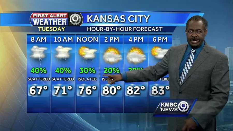 Rain will return to the forecast for your Tuesday morning, but the chances for severe weather look stronger for the entire region on Wednesday.