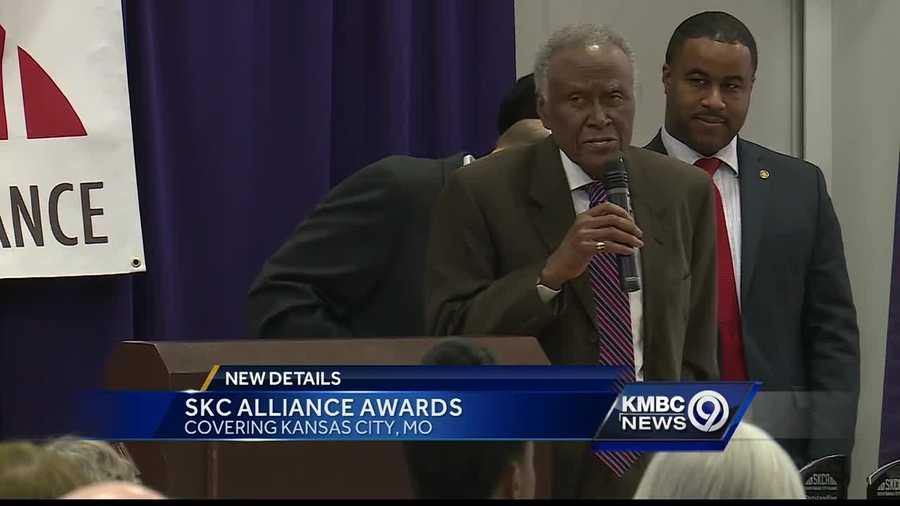 The South Kansas City Alliance handed out its first awards Tuesday for outstanding work in the community.