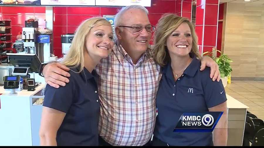 Two women who learned the ropes from their father and now operate several McDonald's restaurants in the Kansas City area are saying thank you on Father's Day.
