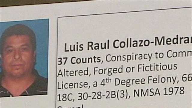 It's being called the largest and most sophisticated driver's license bust in New Mexico.