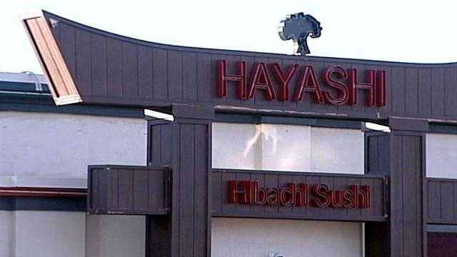 A sushi spot in northeast Albuquerque was hit with a red sticker after a recent health inspection.