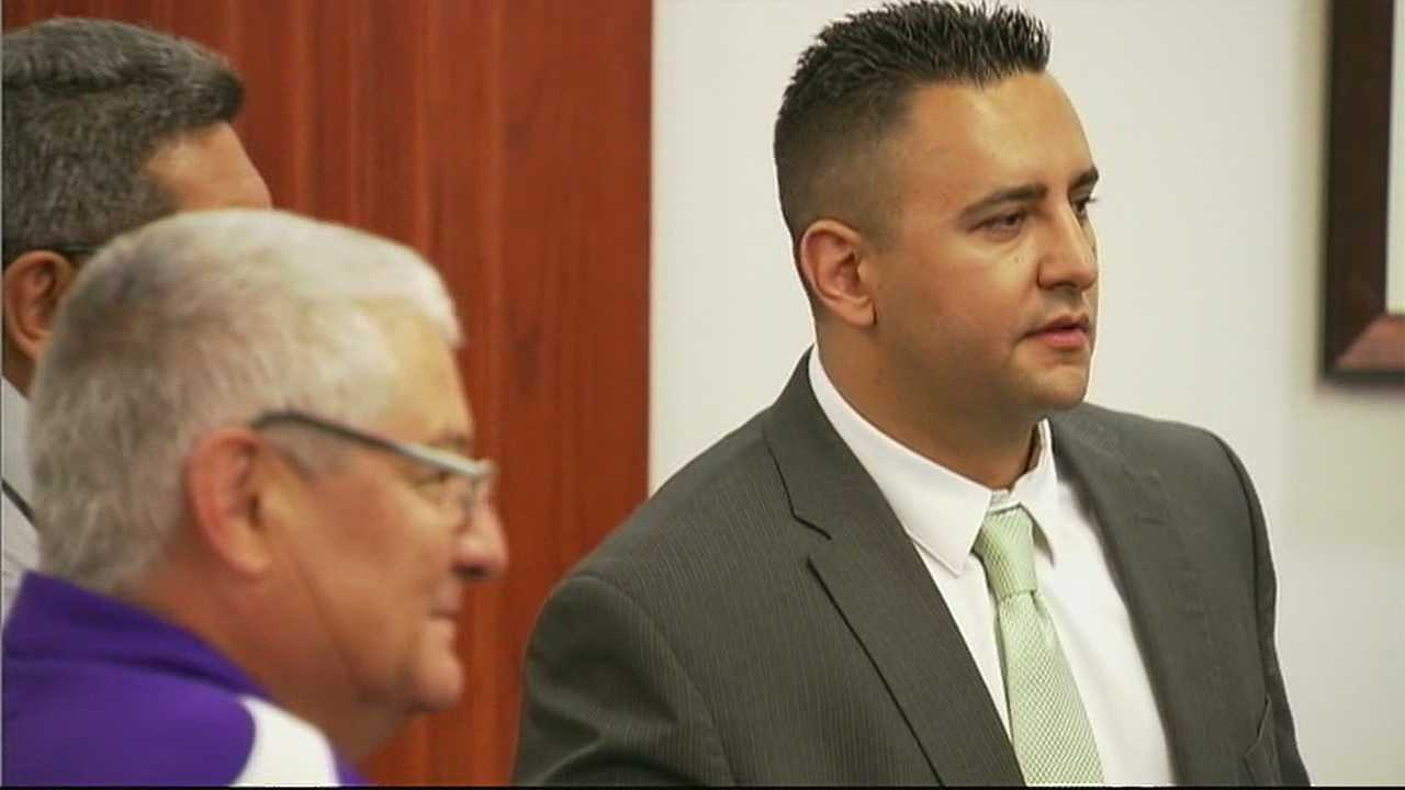 Back in the same courtroom that held his client's murder trial, attorney David Serna asked Judge George Eichwald to toss out the $3,000 bill Levi Chavez is supposed to pay for jury questionnaires.