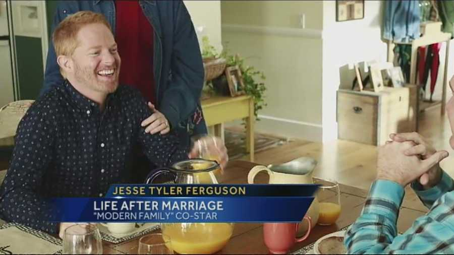 Just married and a star of a hit ABC show, Jesse Tyler Ferguson is living the life.