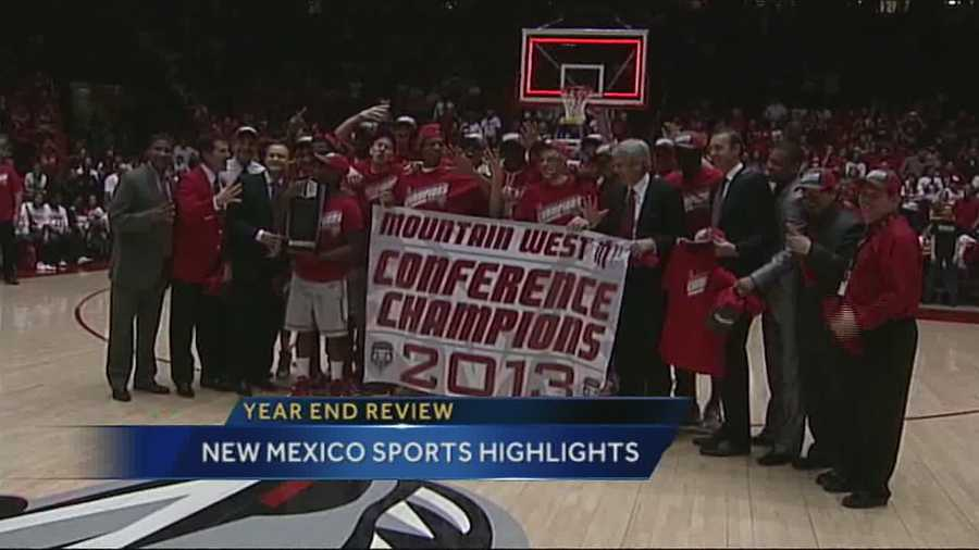 There wasn't a shortage of memories for New Mexico sports in 2013.