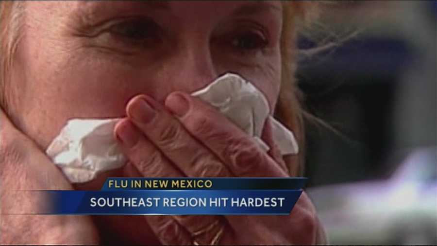 New Mexicans with flu-like symptoms are tracked each week. The latest data shows, out of about 11,800 patients, most are in the southeast region.
