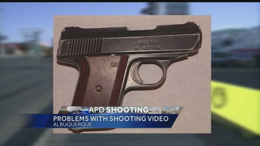 Albuquerque Police Chief Gorden Eden said the department was unable to recover any lapel camera footage from Monday's officer-involved shooting.