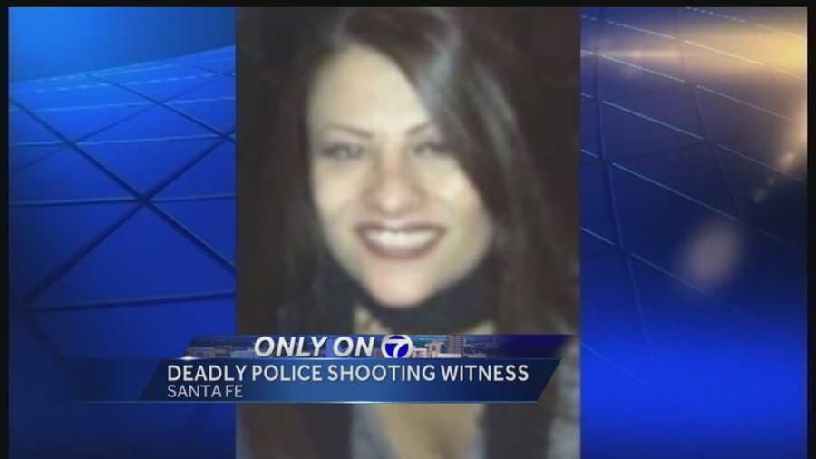 Man speaks out for first time since witnessing NMSP officer shoot and kill his friend, Jeanette Anaya.