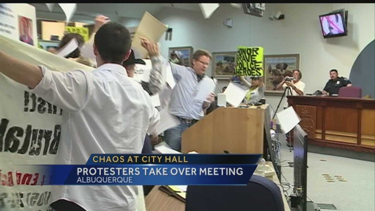 Residents take over Monday's meeting