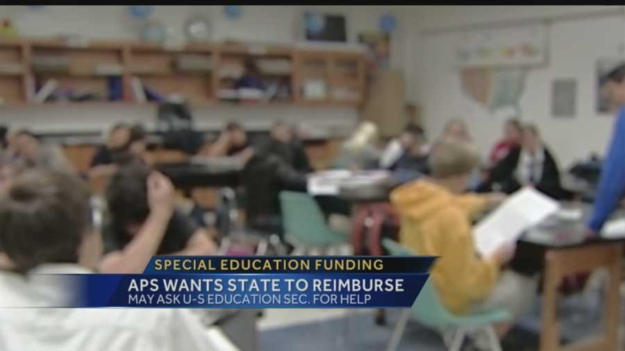 Albuquerque Public Schools is spending millions each year to make up for the state's lack of special education funding.