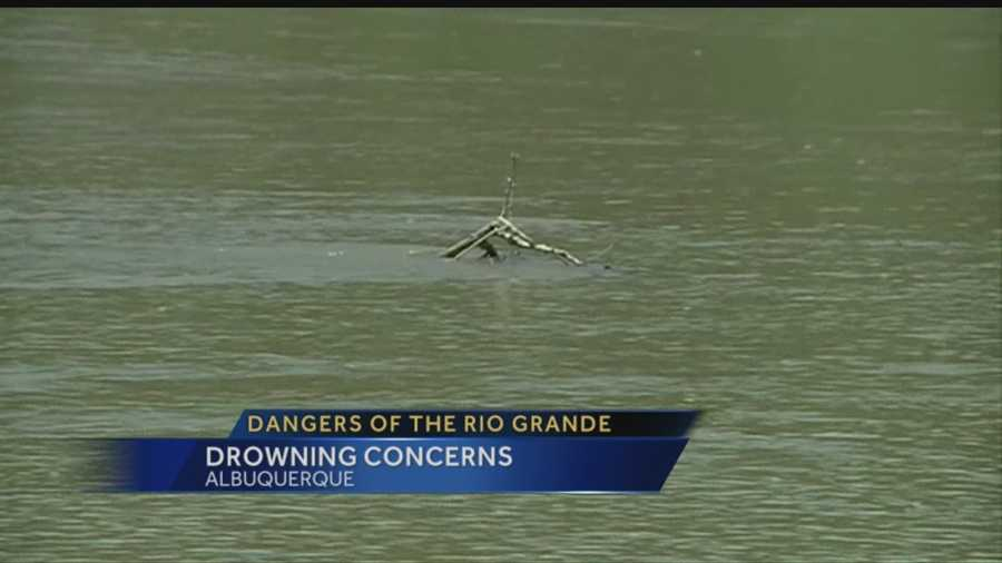 It's heating up across New Mexico, but jumping into the Rio Grande to cool off is a bad idea. Regina explains.