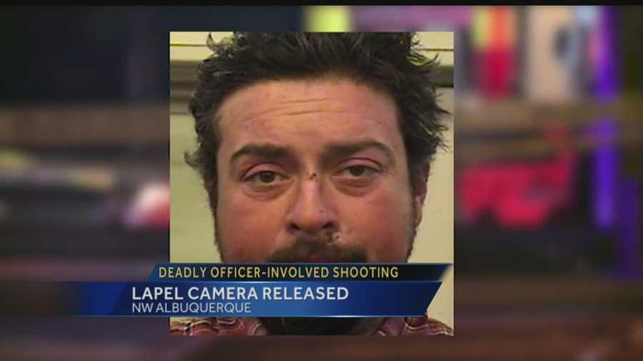 Lapel camera released: Deadly officer-involved shooting