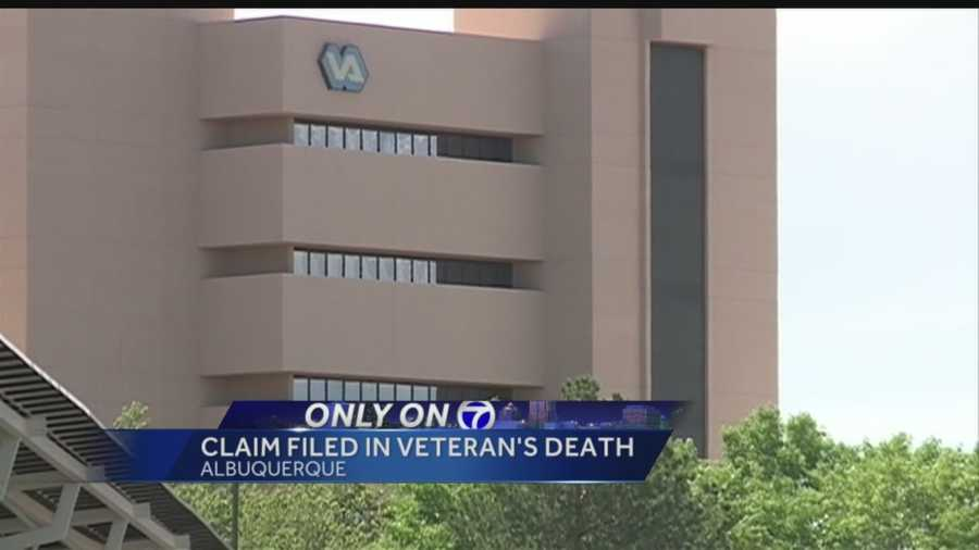 The family of a Vietnam veteran who died at the Albuquerque VA Hospital in June is suing the facility and the Department of Veteran Affairs.