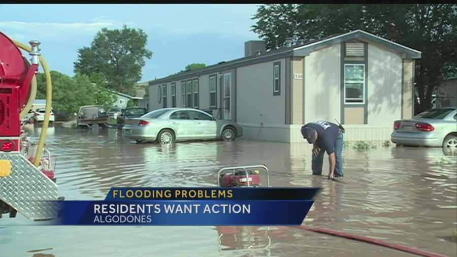 Heavy rain caused serious flooding in Algodones several times. It's been worrisome and frustrating for homeowners who are afraid it will happen again. Tonight they came together to talk about what can be done to prevent future flooding.