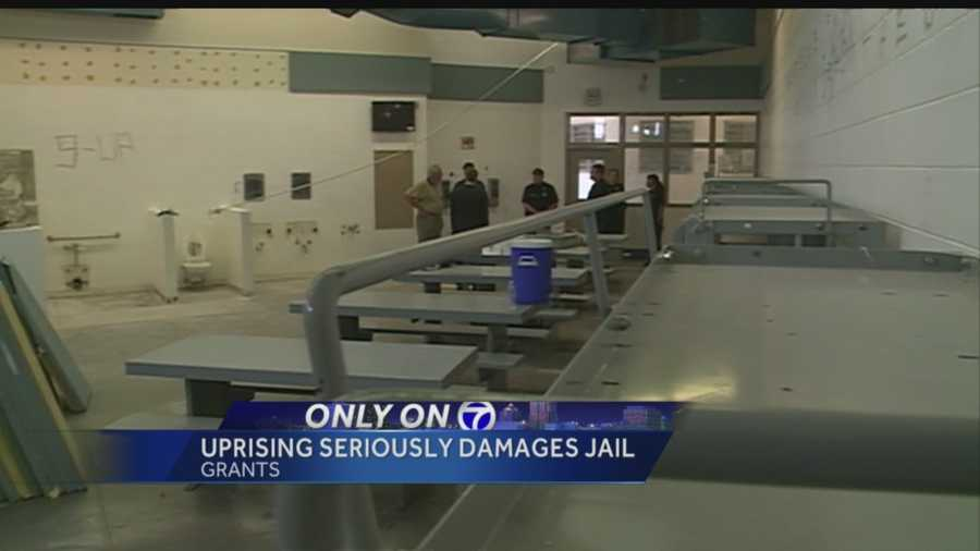 """We were minutes away from someone being killed"", that's how jail officials are describing an inmate uprising in Cibola County."