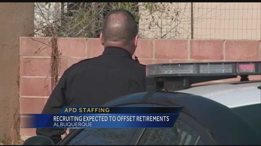 Albuquerque's police department will have to deal with turnover at the end of the year, and changes made to retirement plans for government employees has many officers deciding to cash out sooner rather than later.