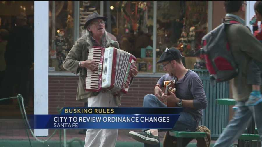 Santa Fe taking another look at the restrictions it  put on street performers.