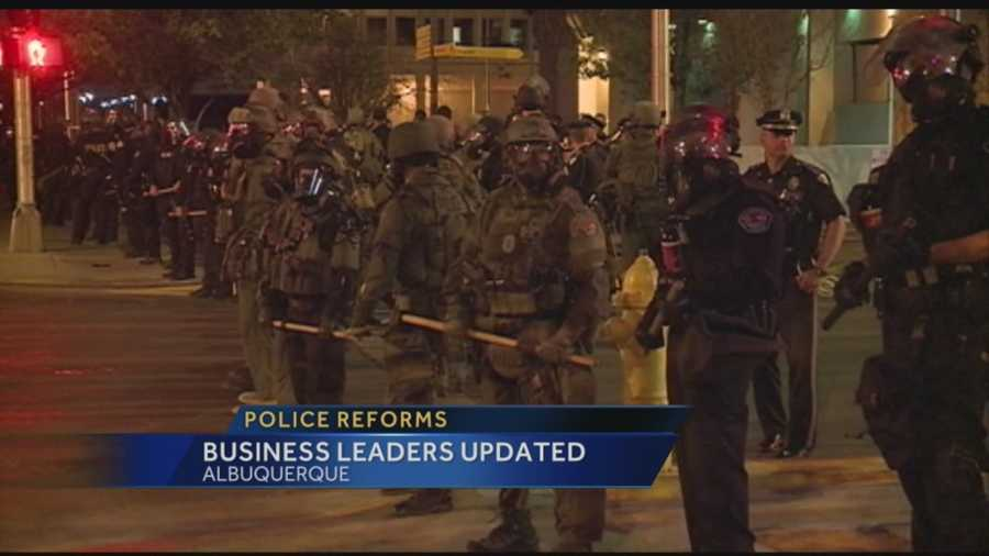 Business leaders say the Albuquerque economy took a hit when the DOJ criticized the police department's use of force. Now APD and the businesses want to improve the city's image.