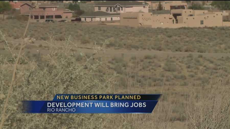 An Albuquerque developer wants to help bring big business to Rio Rancho.