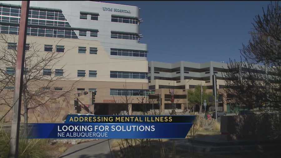 Many people are struggling with mental illness -- and recently, many New Mexicans said they'd be willing to dig into their own pockets to help address a problem in the state.